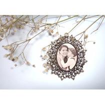 Produto De Casamento Pingente P/ Buquê Personalizado C/ Foto