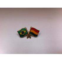 Pins Da Bandeira Do Brasil X Bolívia