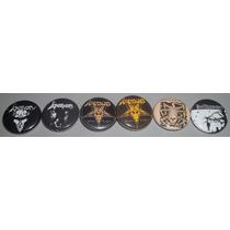 Boton / Pin Venom, Hellhammer, Slayer - Unitário