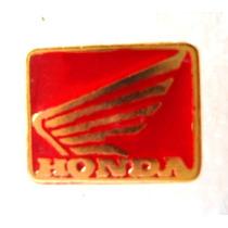 Pin- Boton - Broche Honda Dourado Moto Motociclismo