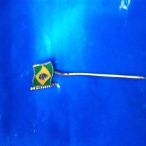 Alfinete Pin Bandeira Brasil