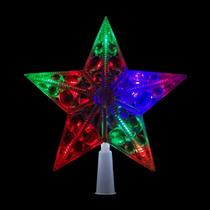 Estrela Led Branco Ponteira Arvore Natal