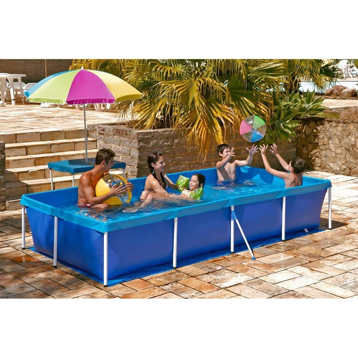 Piscina 3000 litros mor r 294 90 no mercadolivre for Calcular litros piscina