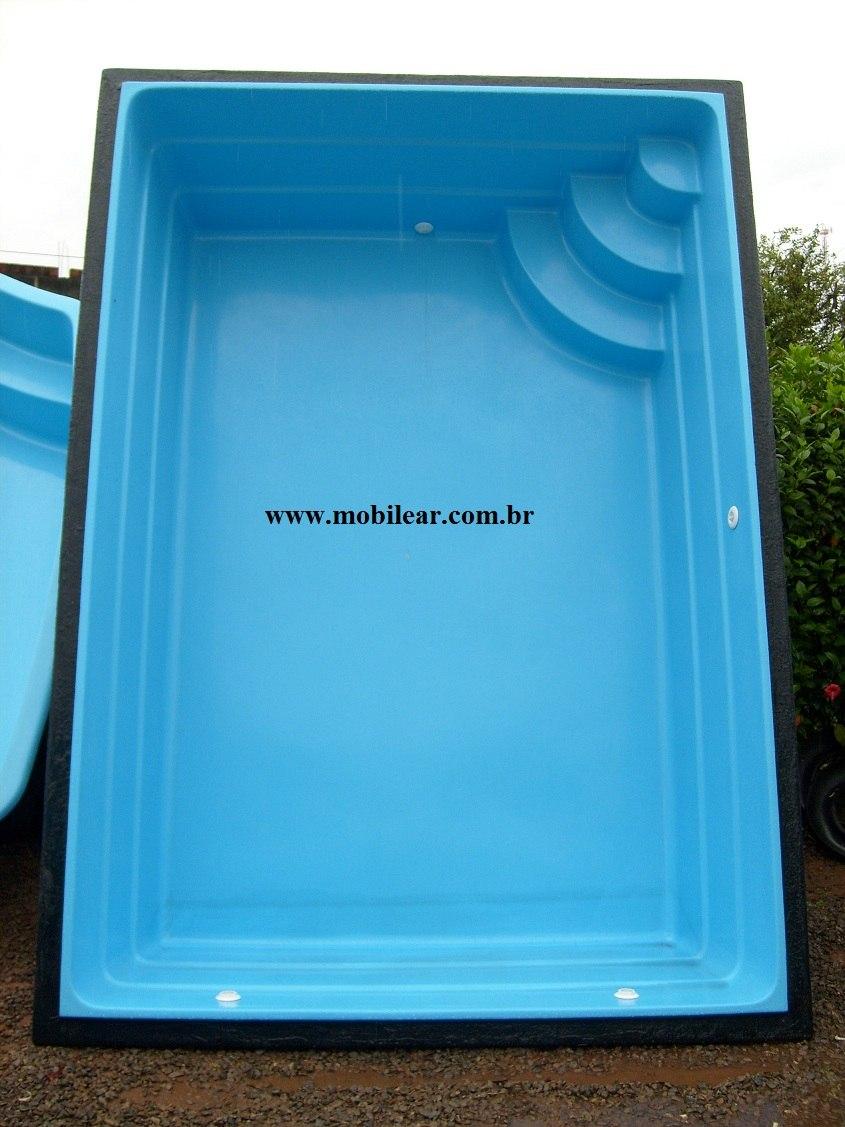 piscina de fibra litros tamanho 3 40 x 2 40 x 0 90
