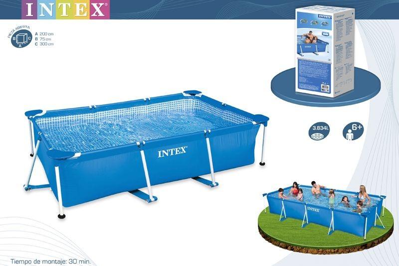 Piscina estrutural retangular litros pvc arma o for Calcular litros piscina