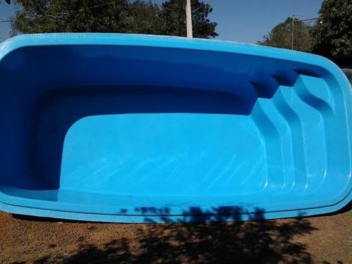Piscina fibra atl ntica 4 88x2 63x1 30 r no for Valores de piscinas de hormigon