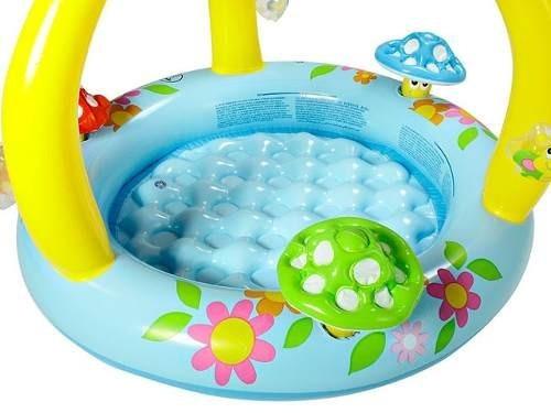 Piscina infantil infl vel bebe brinquedos gr tis 50 for Piscina inflavel arco iris intex playground com escorregador