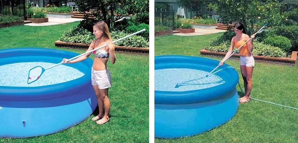 Piscina intex 6503 l filtro 220v capa forro kit de limpeza for Filtro para piscina intex