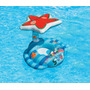 Baby Bote Estrela Do Mar Com Toldo Intex