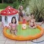 Piscina Infantil Banheira Inflavel Chuveirinho Agua Criancas