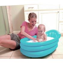 Banheira Inflável Infantil Berço Piscina Bebê Viagem