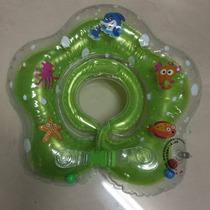 Boia De Pescoço Verde Para Bebe