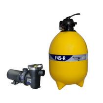 Filtro Piscina 52.000l F45 C/ Bomba 1/2cv Pentair (mark)