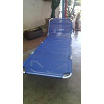 Cadeira Espreguiçadeira De Piscina Com Guarda Sol