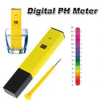 Medidor Teste De Ph Digital Aquario Piscina Bebida Poço Agua