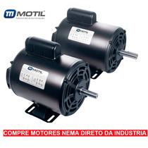Motor Elétrico Nema 110/220 60hz 1 Cv 4 Polos - Abnt Nbr7034