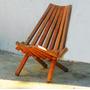Cadeira De Madeira, Dobrável! - Frete Grátis Para Rj Capital