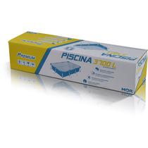 Piscina De Plástico 3.700 Litros Retangular Premium - Mor