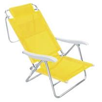 Cadeira De Praia De Alumínio Mor Sol E Verão, Mania Virtual