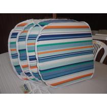Almofadas Aquablock Para Cadeiras De Plástico (cj / 4 Peças)