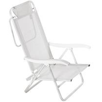Cadeira De Alumínio Mor Sol E Verão, Branca Mania Virtual