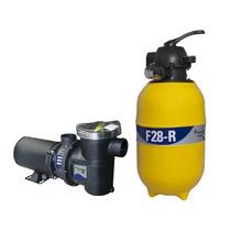 Filtro Piscina Para 19.000l F28 C/ Bomba 1/4cv Pentair(mark)
