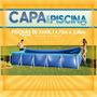 Capa Piscina 7600l Premium - Mor