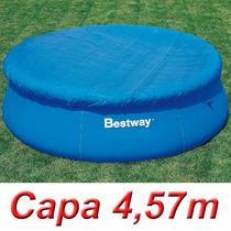 Capa Proteção 457 Cm Para Piscina Inflável 4,57 M Bestway