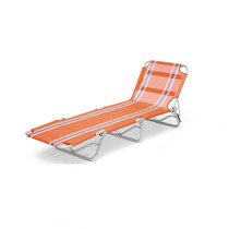 Cadeira Espreguiçadeira Textilene Alumínio Belfix