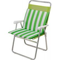 Almofada Para Cadeira E Espreguiçadeira Verde - Mor