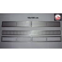 Ralo Linear Tipo Grelha 10x100 Cm Alumínio Somos Fabricante!