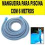 Mangueira P/ Piscina 32mm 6 Mts P/ Limpeza Aspirador Filtro