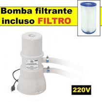 Bomba Filtrante P Piscina Filtra 3.600 Litros Hora 220v Mor