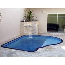 Borda Pool De Cerâmica Para Piscina De Vinil E Azulejo