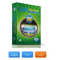 Capa Para Piscina Redonda De 6700l Ou 7800l Mor Splash Fun