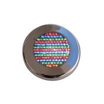 Iluminação Para Piscina Refletor Led 65 Pratic Inox Rgb