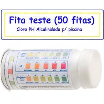 Kit Teste Ph Cloro Alcalinidade Para Piscinas A Pronto Envio