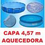 Capa Aquecedora Solar Piscina Intex 457 Cm 4,57 10681 10179