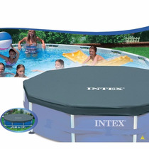 Capa Proteção Intex Piscina Estrutural 366 Cm Cobertura