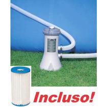 Bomba Filtrante Piscina Intex 2006 Lh Filtro Incluso 110v