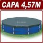 Capa Tampa De Cobertura P/ Piscina 4,57m Estrutural - Intex