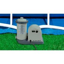 Bomba Filtrante Piscina Intex 5678 L/h 110v Filtro Incluso