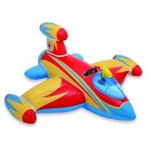 Bote Inflável Infantil Nave Espacial C/ Pistola Intex Bóia