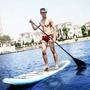 Prancha Stand Up Paddle Sup Inflavel Nautika + Remo + Bomba
