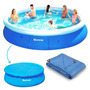 Piscina Inflável 10179l 4,57m X 91cm Bestway + Forro + Capa