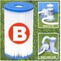 Filtro Refil Tipo B Intex Cartucho Bomba Filtrante Piscina