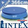 Capa Lona Piscina 3,66 Intex Serve Mor Bel Bestway E Nautika