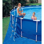 Escada Para Piscina Intex 132 Cm De Altura Original