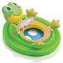 Baby Bote Minha Primeira Bóia Sapo Inflável P/ Bebê Intex