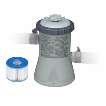 Bomba Filtrante Piscina Intex 1250 Lh 110v Filtro Incluso
